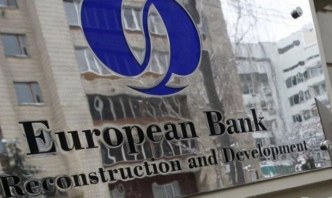 Портфель проектов ЕБРР в Украине к январю может достичь €900 миллионов