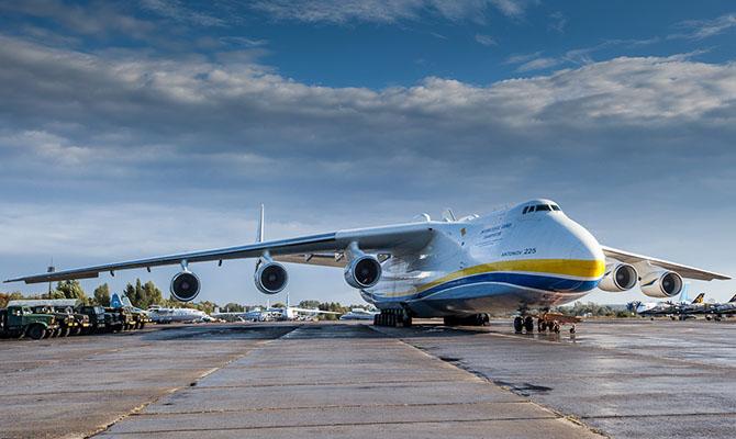 Украина предложит производителям вакцины от COVID-19 услуги самолета «Мрия»