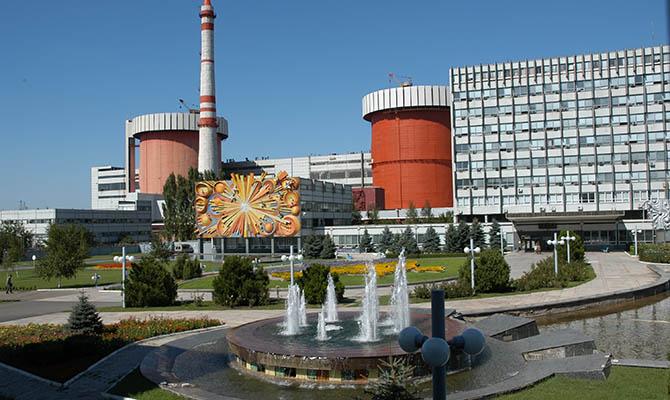 АЭС вырабатывают в Украине более половины всей электроэнергии