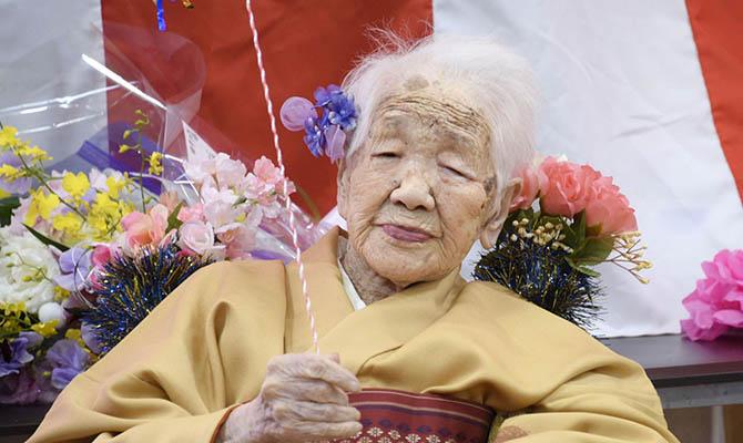 Самой пожилой в мире женщине исполнилось 118 лет