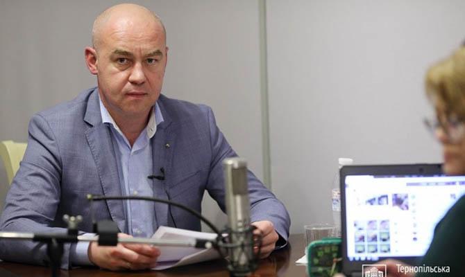 Мэр Тернополя пожаловался, что его заставляют закрыть город