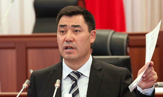 Жапаров побеждает на выборах президента Кыргызстана