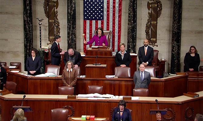 Палата представителей Конгресса рассмотрит вопрос импичмента Трампа 13-14 января