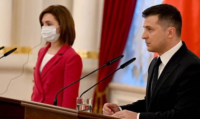 Украина и Молдова построят дорогу между столицами в обход Приднестровья