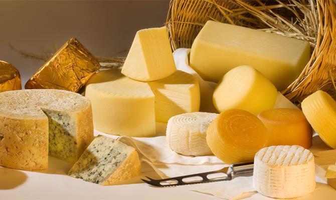 Импорт сыра в Украину в 2020 году вырос почти вдвое