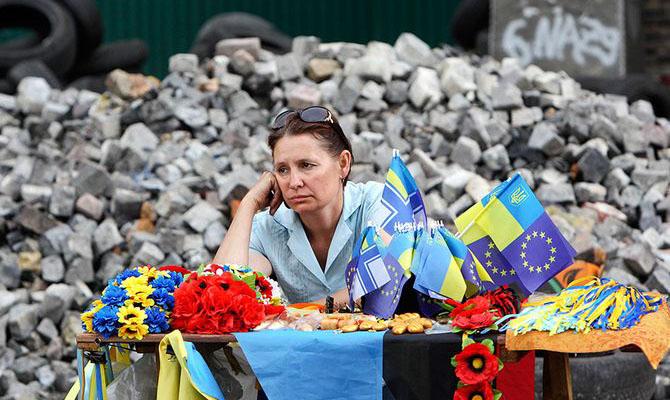 Украинцы за год стали гораздо более несчастливы