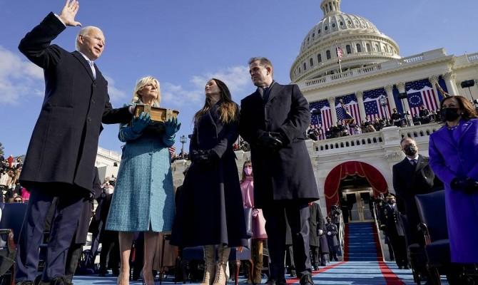 Байден вступил в должность 46-го президента США