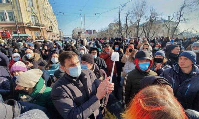 В РФ начались задержания на акциях в поддержку Навального
