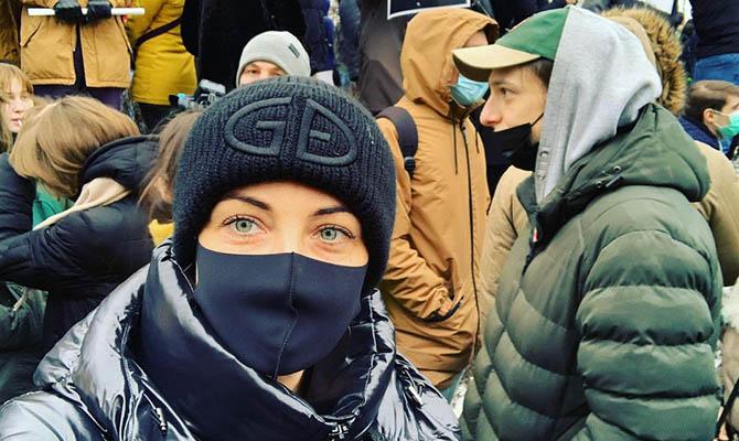В центре Москвы задержали Юлию Навальную