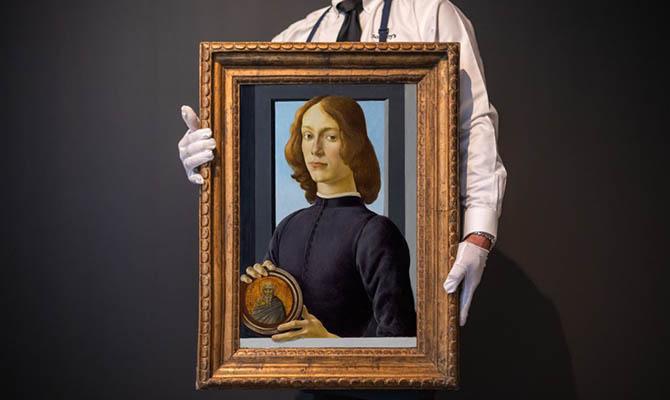 Картину Боттичелли продали на аукционе за $92 млн