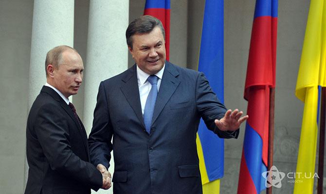Януковича уведомили о подозрении в государственной измене