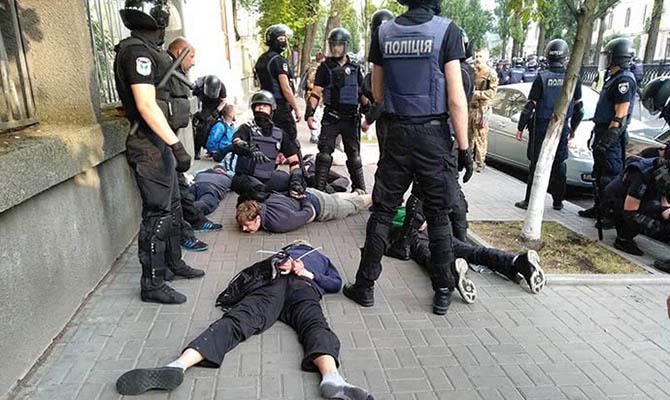 В Киеве в 5 раз уменьшилось количество грабежей
