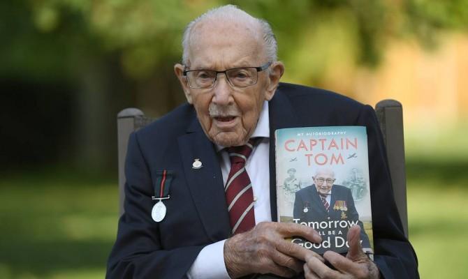 Умер британский ветеран, собравший $45 млн для врачей