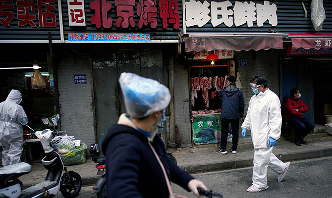 Эксперты ВОЗ завершают работу в Китае