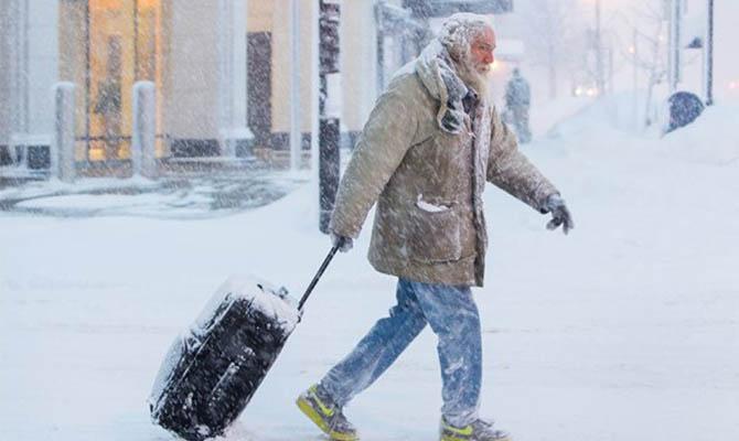 Зима в Германии в этом годы бьет рекорды