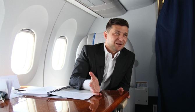 Авиаперелеты Зеленского в 2020 году обошлись бюджету в 22 миллиона