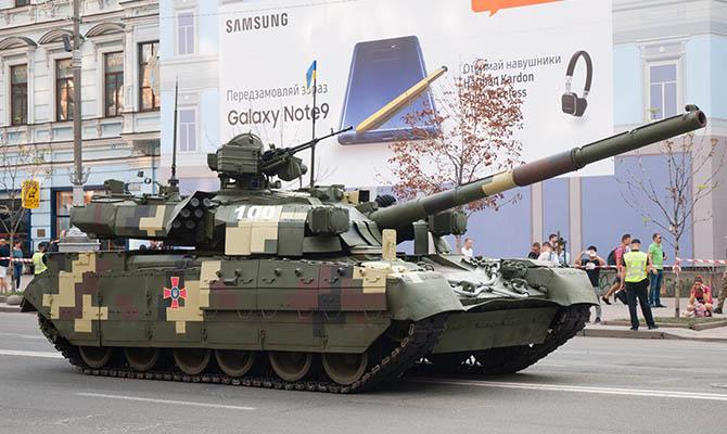 Украина представила американцам свой танк для изучения