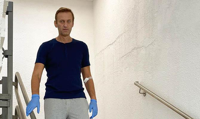 Навального в Германии охраняли немецкие спецслужбы