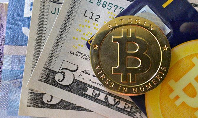 Цена биткоина уже превысила $57 тысяч