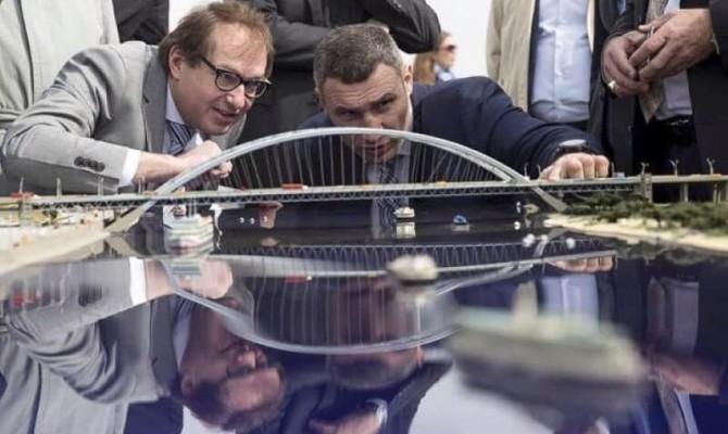 Кличко не хочет передавать Подольско-Воскресенский мост «Укравтодору»