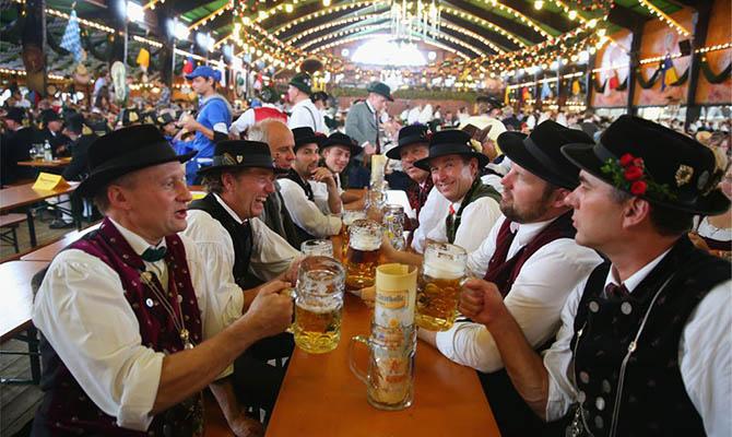 Немецкие пивовары отмечают рекордное падении продаж