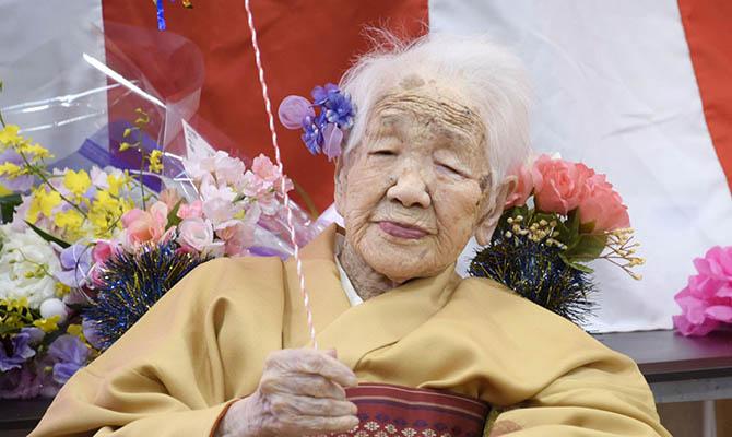 В эстафете олимпийского огня примет участие 118-летняя старейшая жительница планеты