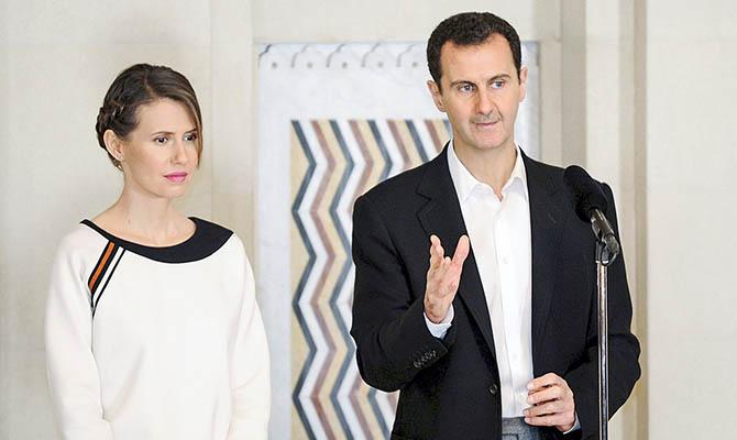Президент Сирии Асад и его супруга заразились коронавирусом