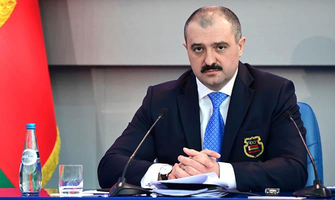 Сын Лукашенко останется главой Олимпийского комитета Беларуси несмотря на непризнание МОК