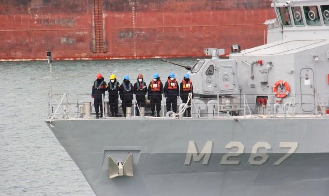В порт Одессы зашли сразу четыре корабля НАТО