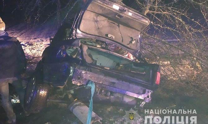 В Ровенской области подростки устроили ДТП – один погиб, трое в реанимации