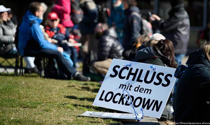 В странах ЕС проходят демонстрации против ограничений из-за пандемии