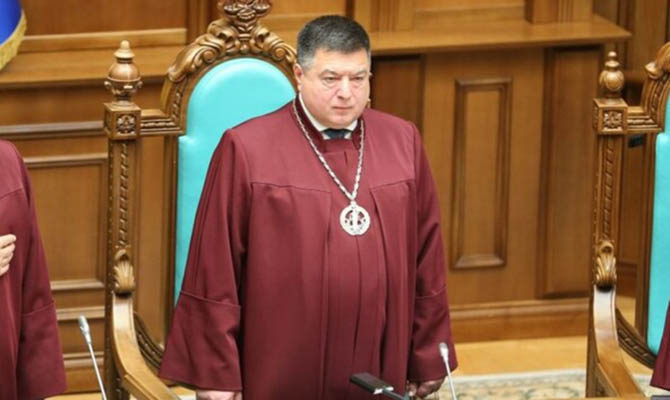 НАПК составило еще один админпротокол на главу КС Тупицкого