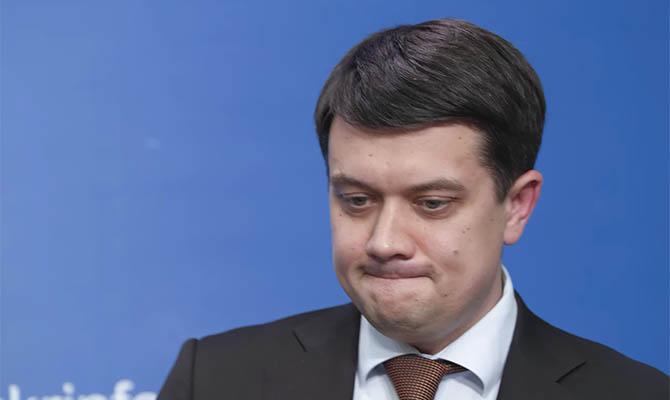 Разумков не смог объяснить, почему Зеленский подписал указ о санкциях, когда заседания СНБО не было