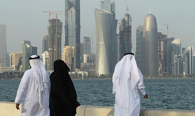 Зеленский с женой летят в Катар