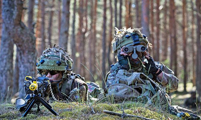 Украину пригласили поучаствовать в этом году в семи учениях НАТО