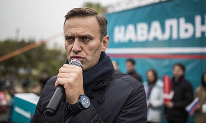 У российского оппозиционера Навального нашли две грыжи