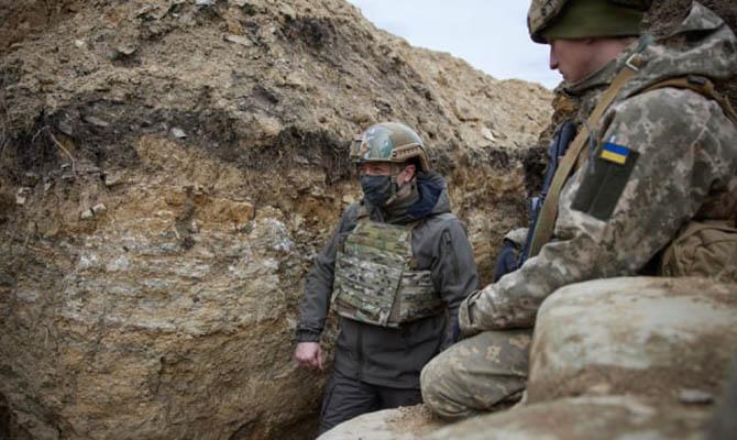 Зеленский прокомментировал обострение на Донбассе