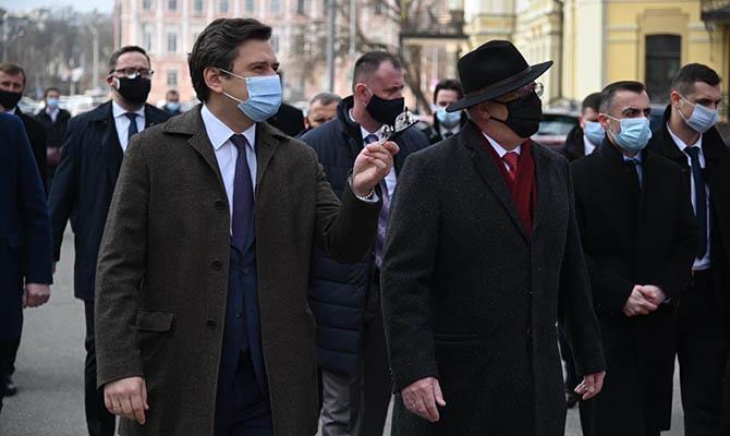 Глава МИД Польши приехал поддержать Украину на фоне обострения отношений с РФ