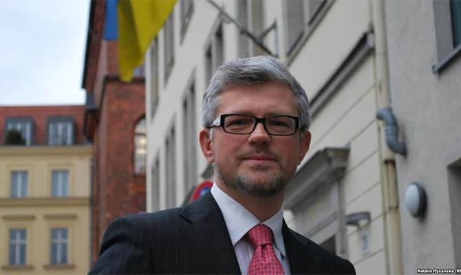 Посол в Германии призвал Меркель изолировать Россию и дать Украине оружие