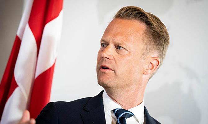 Глава МИД Дании поддержал Украину перед лицом агрессии РФ