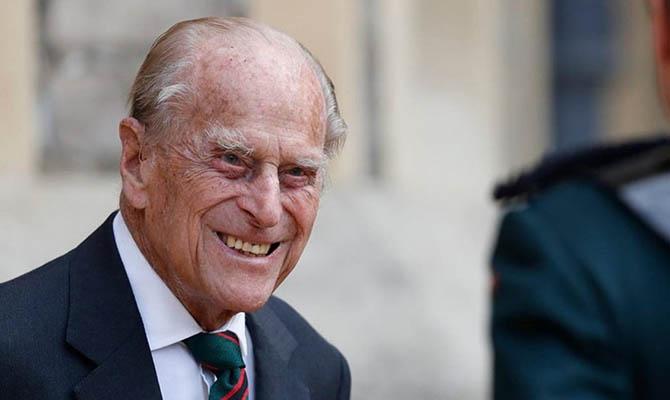 Умер супруг Елизаветы II принц Филип