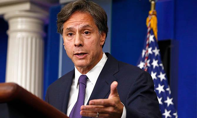 Госсекретарь США заявил о поддержке евроатлантической интеграции Украины