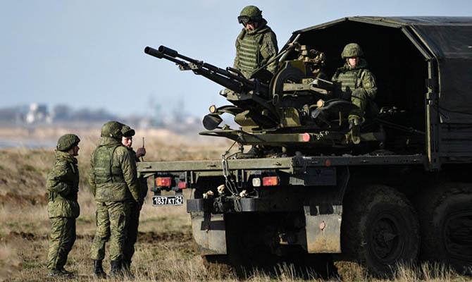 В ЕС назвали развертывание сил РФ у границы с Украиной «крупнейшим в истории»