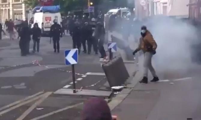 Во Франции во время первомайских демонстраций произошли массовые задержания