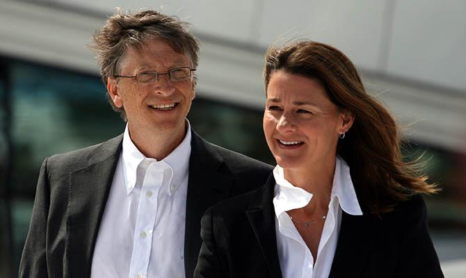 Билл и Мелинда Гейтс начали делить имущество