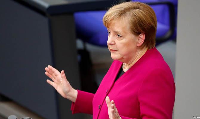 Меркель поблагодарила США за помощь в соперничестве с Россией и Китаем