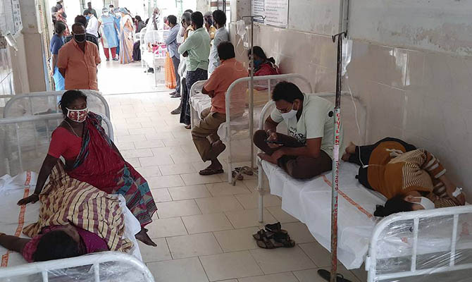 Индия опять установила антирекорд по числу заболевших COVID-19 за сутки