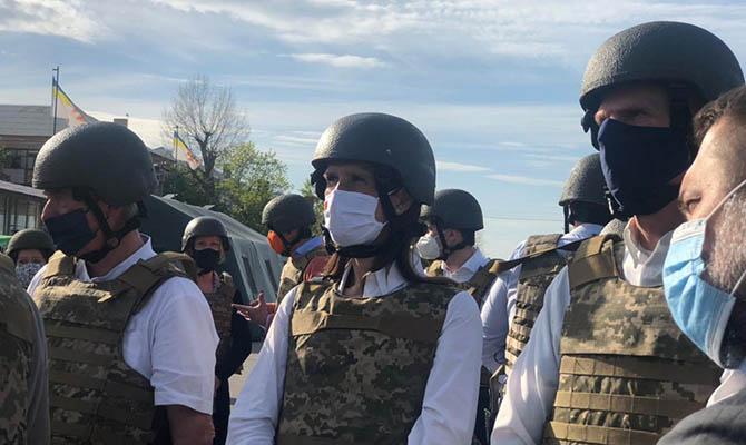 Главы МИД стран Бенилюкса посетили Донбасс