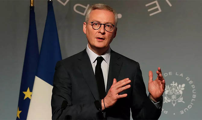 В Украину прибыл министр финансов Франции