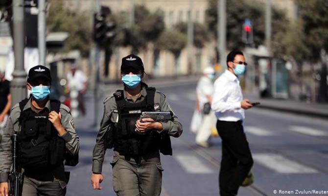 Израиль внес Украину в список стран с максимальным риском COVID
